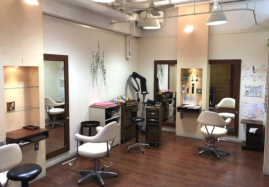 HAIR RELAXATION IXIS 店舗画像