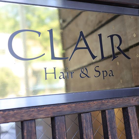 CLAIR Hair&Spa様